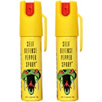 "Cobra Self Defense Pepper Spray, 13g "" Pack of 2"""