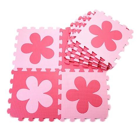 10 piezas de rompecabezas/colchonetas de espuma impermeable ...