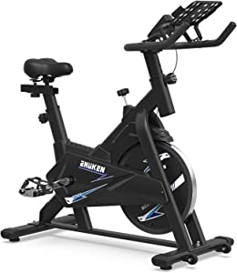 ZHUKEN Exercise Bike, Indoor Cycling Bike Stationary Bikes, Spin Bike for Home Cardio Bike, Workout Bike with 35 LBS Flywheel