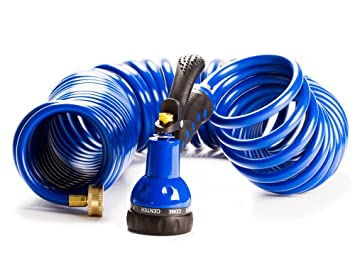 Amazoncom Expandable Garden Hose 50 Ft Flexible Coil Hose w