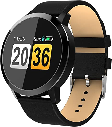 Adsvtech Smart Watch, Bluetooth Smartwatch for Women Men, Sports Fitness Tracker IP67 Waterproof with Heart Rate Blood Pressure Sleep Monitor Calorie ...