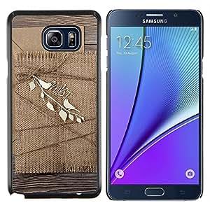 GIFT CHOICE / Teléfono Estuche protector Duro Cáscara Funda Cubierta Caso / Hard Case for Samsung Galaxy Note 5 5th N9200 // Cardboard cover //