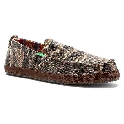 112771ae74b4a Amazon.com: Sanuk Mens Commodore Funk Shoes Size 11 Camo: Shoes
