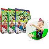 Zimpli Kids 5368 Children/'s Sensory /& Bath Toy Turn water into colourful goo Pink Glitter Gelli Baff
