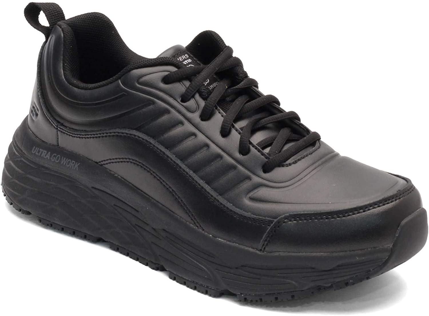 Skechers Men's, Max Cushioning Elite SR - Tostock Work Shoe: Shoes