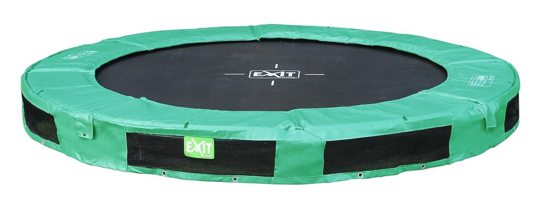 EXIT Trampolin InTerra, grün, Ø: 244 cm 244 cm, 20 cm