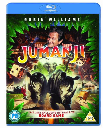 5050629402933 Ean Jumanji Blu Ray 1995 Region Free