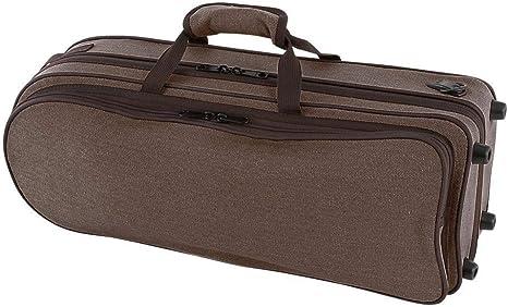 GEWA 708300 - Estuche con forma para trompeta, serie Compact, ligero, exterior color negro: Amazon.es: Instrumentos musicales