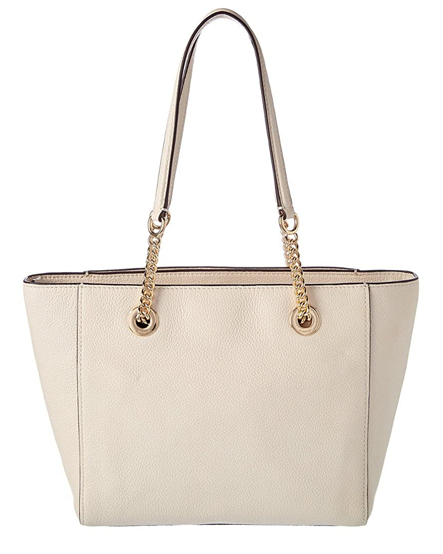 d250a65c1 Amazon.com: COACH Women's Pebbled Turnlock Chain Tote 27 Li/Chalk One Size:  Shoes