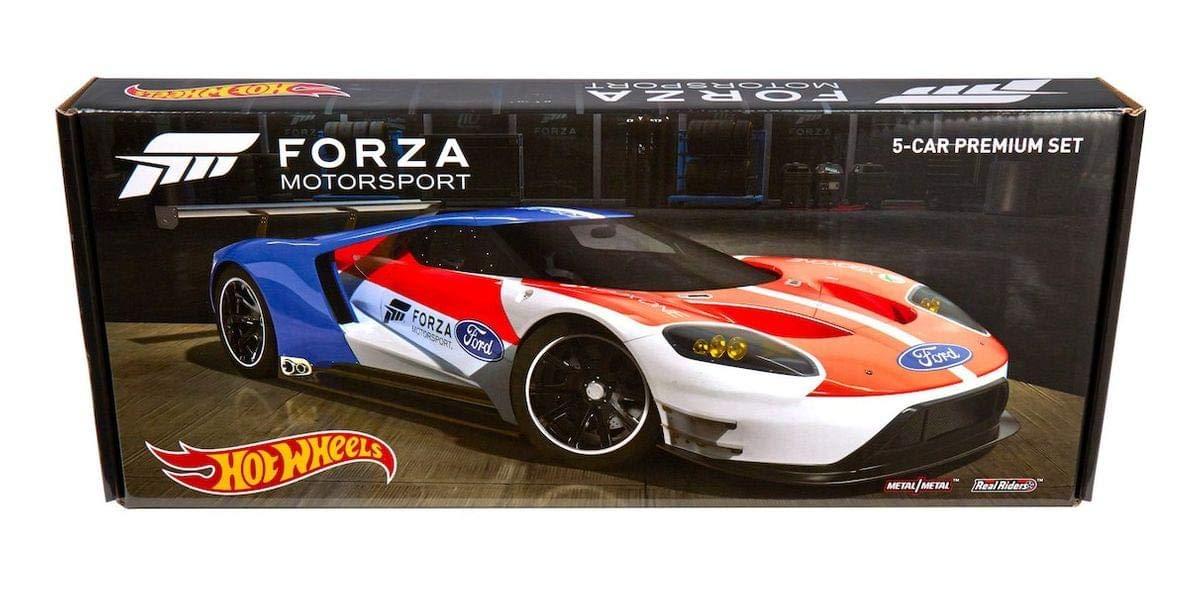 Amazon Com Hot Wheels Forza Motorsport Premium Vehicle Set Toys