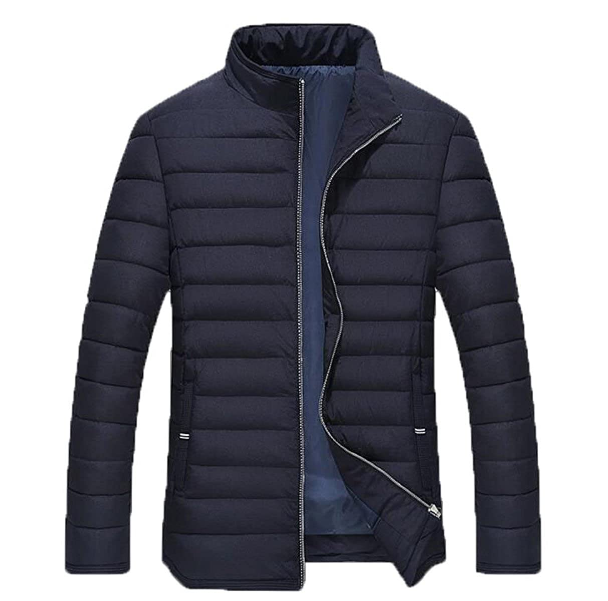 Winter Cold Warm Men's Jacket Cotton Loose Loose Zipper Closure Cotton Jacket Coat PF56SNR Ltd