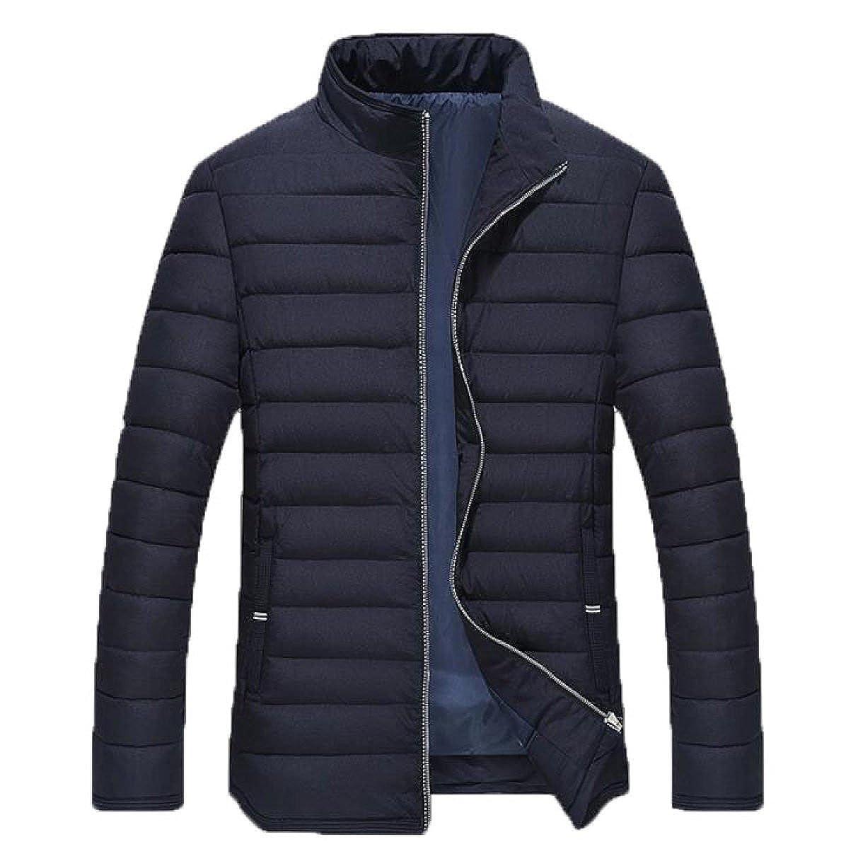 Winter Cold Warm Men's Jacket Cotton Loose Loose Zipper Closure Cotton Jacket Coat PF56SNR Ltd