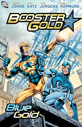 Booster Gold: Blue And Gold Jeff Gold Graphics