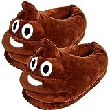 YINGGG Unisex Emoji Slippers Plush Fluffy House Shoes