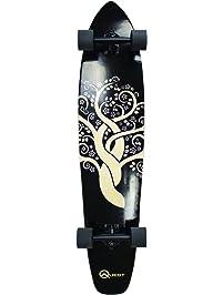 "The Quest Super Cruiser Gaia Artisan Maple 44"" Longboard Skateboard"
