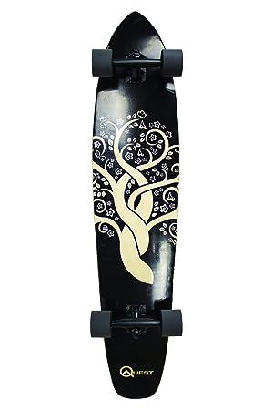 Quest The Super Cruiser Gaia Artisan Maple 44' Longboard Skateboard