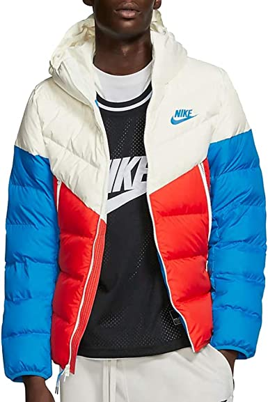 Estar confundido Oxido probable  Amazon.com: Nike NSW Down Fill Windrunner Chaqueta con capucha para hombre  Hd 928833-133: Clothing
