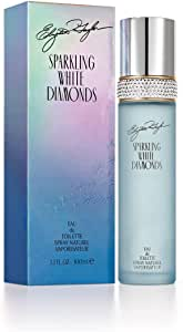 Elizabeth Taylor Sparkling White Diamonds Eau de Toilette Spray, 100ml, Multi (13816)