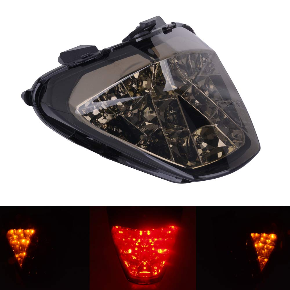 Motorcycle Rear LED Taillights Integrated Tail Signal light Lamp Turn Signal and Brake Lights For HONDA CBR300R CBR 300R 2015-2018 CB300F CB 300F 2015-2018 CBR250R 250R 2011-2013 Street Motorbike