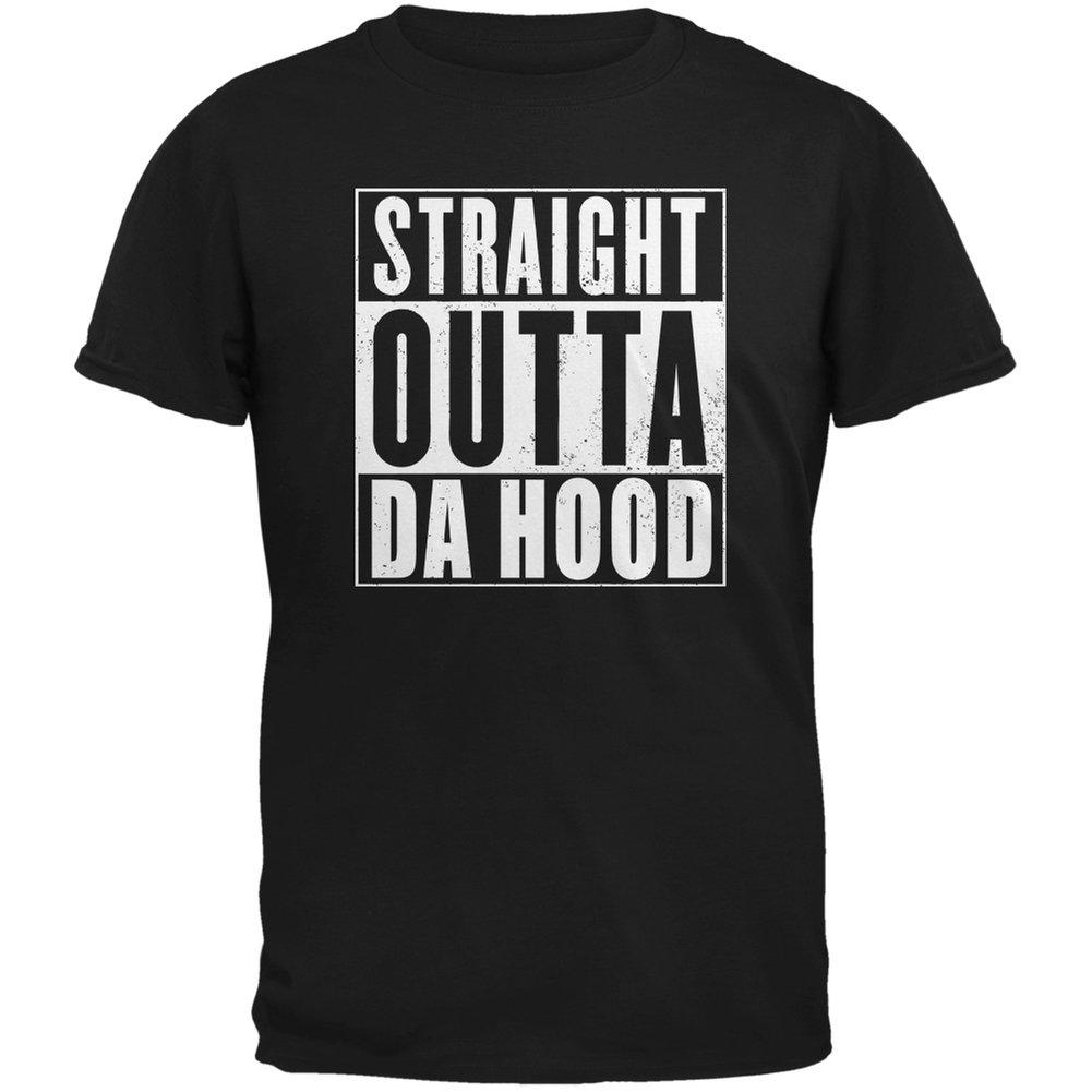 Straight Outta Da Hood Adult T Shirt 7269