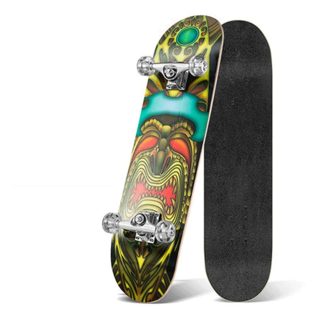 公式の  ダイナミックな四輪スケートボード大人の子供スケートボード両側傾斜ボードスポーツメープルウッドトラベル初心者 Chief) (色 (色 : Chief) B07KXP61N8 B07KXP61N8 Mask Mask, Dream Link:b71193aa --- a0267596.xsph.ru