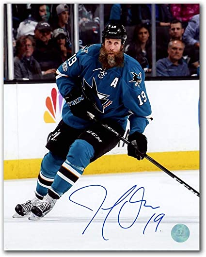 Certificate of Authenticity Included Joe Thornton San Jose Sharks Autographed Autograph Official Game Hockey Puck