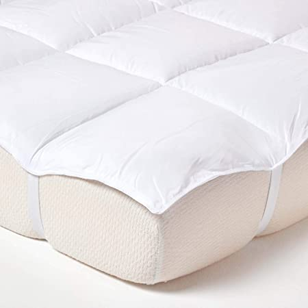 100/% Luxury Microfibre Mattress Topper All Sizes Available
