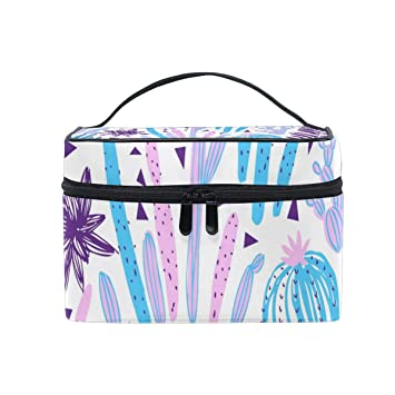 cc1cd745ed6d Amazon.com   Wild Tropical Rainforest Makeup Case Versatile Portable Cosmetic  Bag Travel Hanging Toiletry Pouch Organizer for Women Girls   Beauty