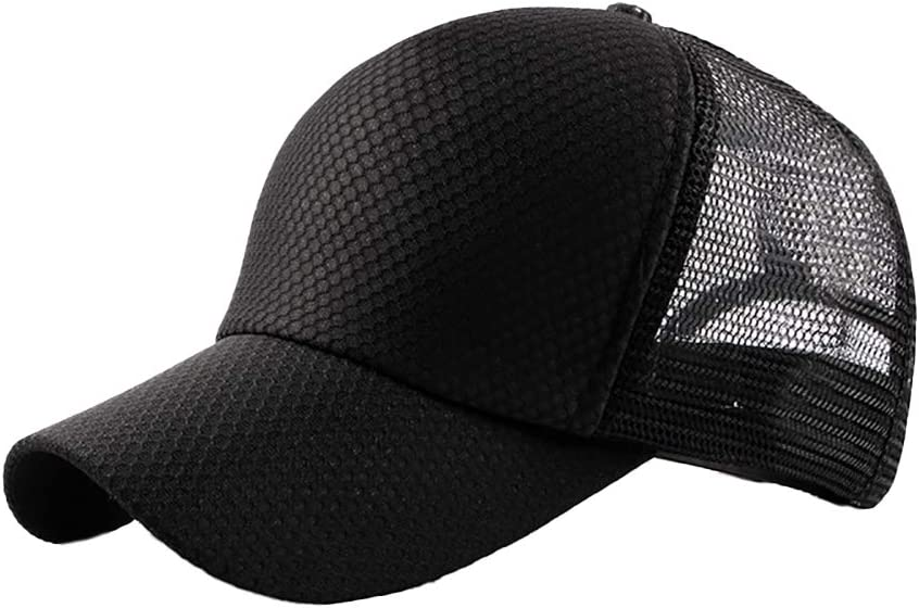 Uesae Outdoor Sports Baseball Hat Chapeau de Sport Unisexe de Baseball Cap Outdoor Loisirs Chapeau de Soleil Chapeau de Soleil Coton Casquette Running Hat R/églable Boucle pour Voyager Randonn/ée