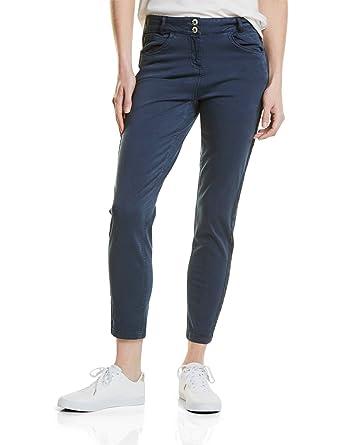 371276 Victoria Tuxedo, Pantalon Femme, Bleu (Deep Blue 10128), 44 (Taille Fabricant: 31)Cecil