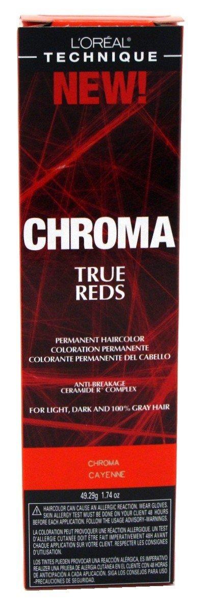 Amazon Loreal Paris Chroma True Reds Permanent Hair Color