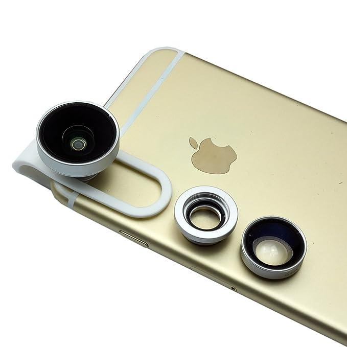 8 opinioni per Mondpalast @ 3 in 1 Lenti Smartphone Clip On Obiettivo Staccabile 0.65X