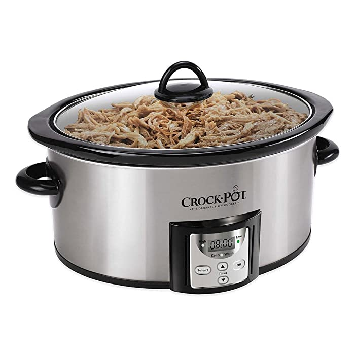 Crock-Pot® SCCPVC400-S 4 qt. Count Down Slow Cooker Is Designed for Everyday Cooking