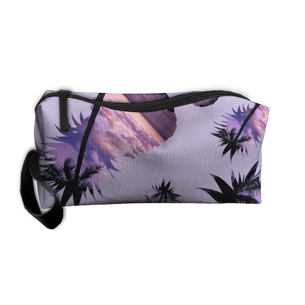f9fd3bc6f1e5 Pineapple-Sunset 3D Printing Handy Makeup Bags Multi-functional Travel Bags  hot sale