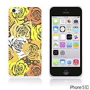 OnlineBestDigital - Flower Pattern Hardback Case for Apple iPhone 5C - Yellow Roses