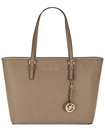 aa424a3ef5cfab Amazon.com: Michael Michael Kors Jet Set Top-Zip Travel Leather Tote: Shoes