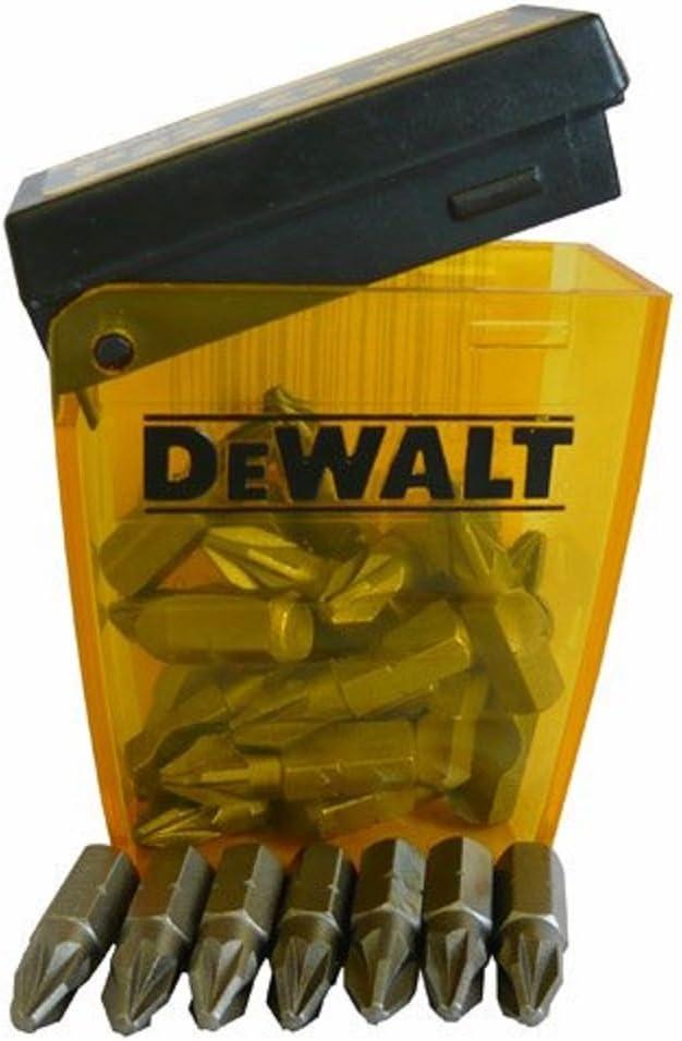 Dewalt DEWDT7908QZ Pack de 25 puntas PZ2, Set Piezas