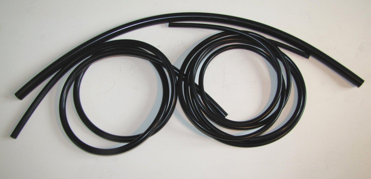 Metric Silicone Vacuum Lines 3 Sizes Kit - Black by 928 Motorsports (Image #2)