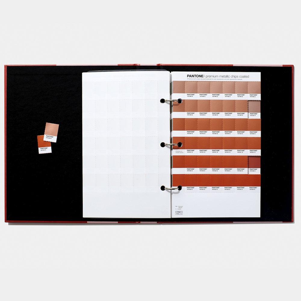 Pantone PLUS Premium Metallics Guide Coated GG1505
