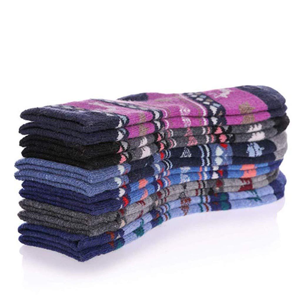 Vacally Kids Cute Comfortable Floor Socks 6 Pairs Lovely Winter Warm Baby Socks