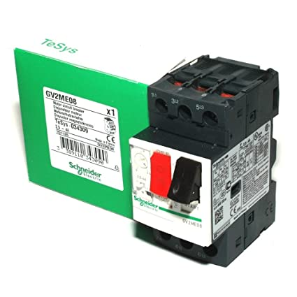 schneider electric gv2me08 manual starter 600 vac 4amp iec 600vac rh amazon com interphone schneider electric manual manual electrico schneider
