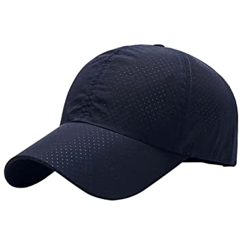 b33731e3eb2857 Reefa Sommer atmungsaktiv Baseball Cap Ultra dünne Netz schnell trocken  leichte Sonnenhut Laufen Kappe Fishing Mütze