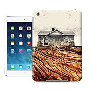 tostore Hut on Root Now the city pattern case battery cover for ipad mini