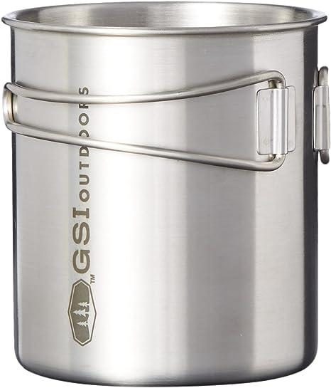 Amazon.com: GSI Outdoors Glacier taza/vaso de acero ...