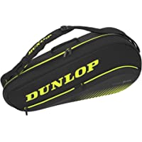 Dunlop Sports SX Performance - Bolsa térmica para Tenis (3 Raquetas), Color Negro y Amarillo