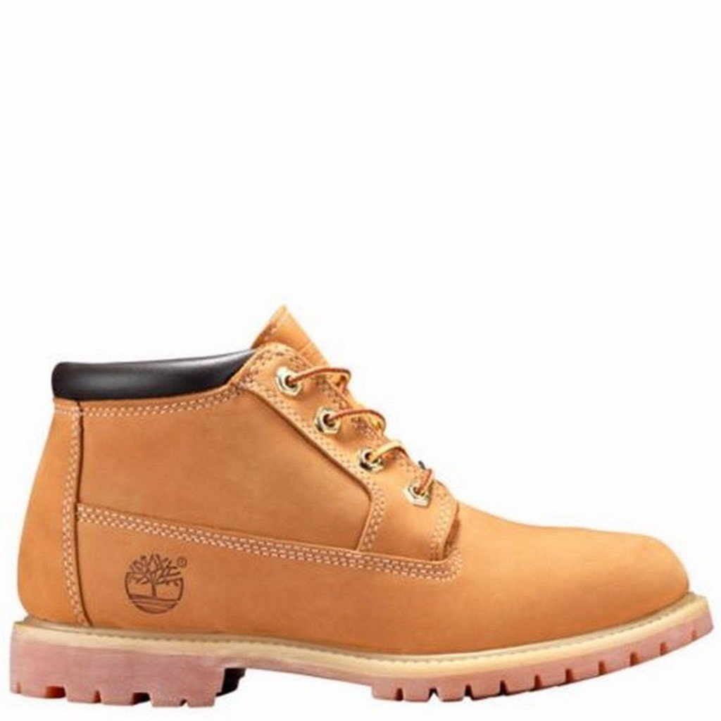 Timberland Women's Earthkeepers� Nellie Chukka Double Waterproof Boot Wheat Nubuck 7 M