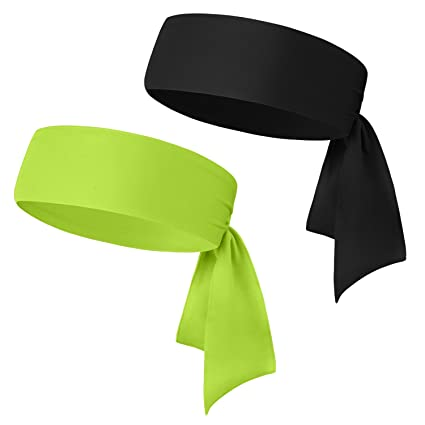 ... 1PCS / 2PCS / 3PCS - Keep Sweat Out of Your Face - Moisture Wicking & Performance Stretch - Sports Headband for Tennis Running Gym and Working Out