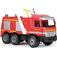 SIMM Spielwaren Lena 02031-Camion-benne géant Actros 63cm, 3axes avec capacité de charge solide et benne verrouillable