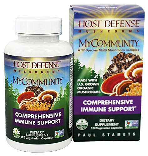 (Host Defense - MyCommunity Comprehensive Immune Support - 120 Vegetarian Capsules)