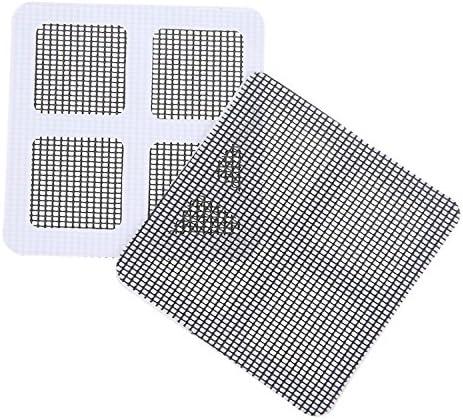 Window and Door Screen Repair Kit Screen Repair Tape Strong Adhesive /& Waterproof Seal for Repair Holes Tears 20 Patches 4 x 4 10cm x 10cm